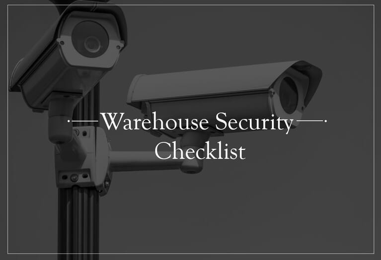 Warehouse security practices